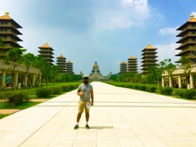 Visiting the Fo Guang Shan Temple in Kaohsiung