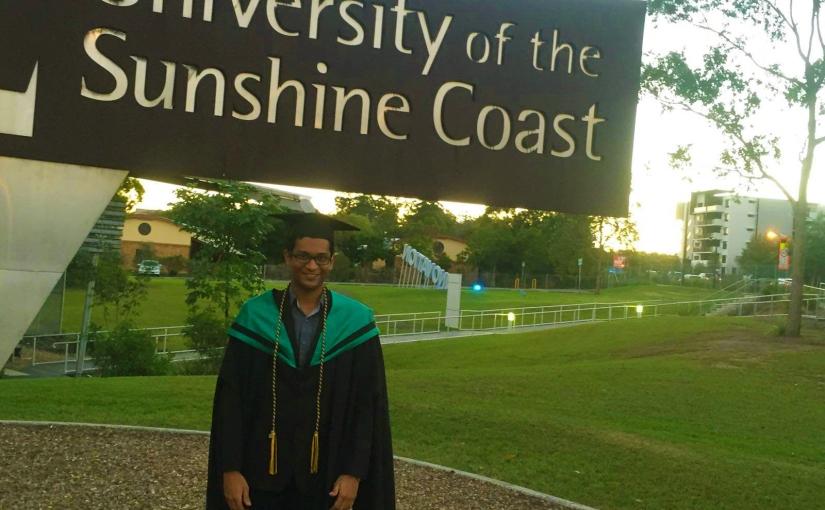 Shariq from Pakistan studying atUSC