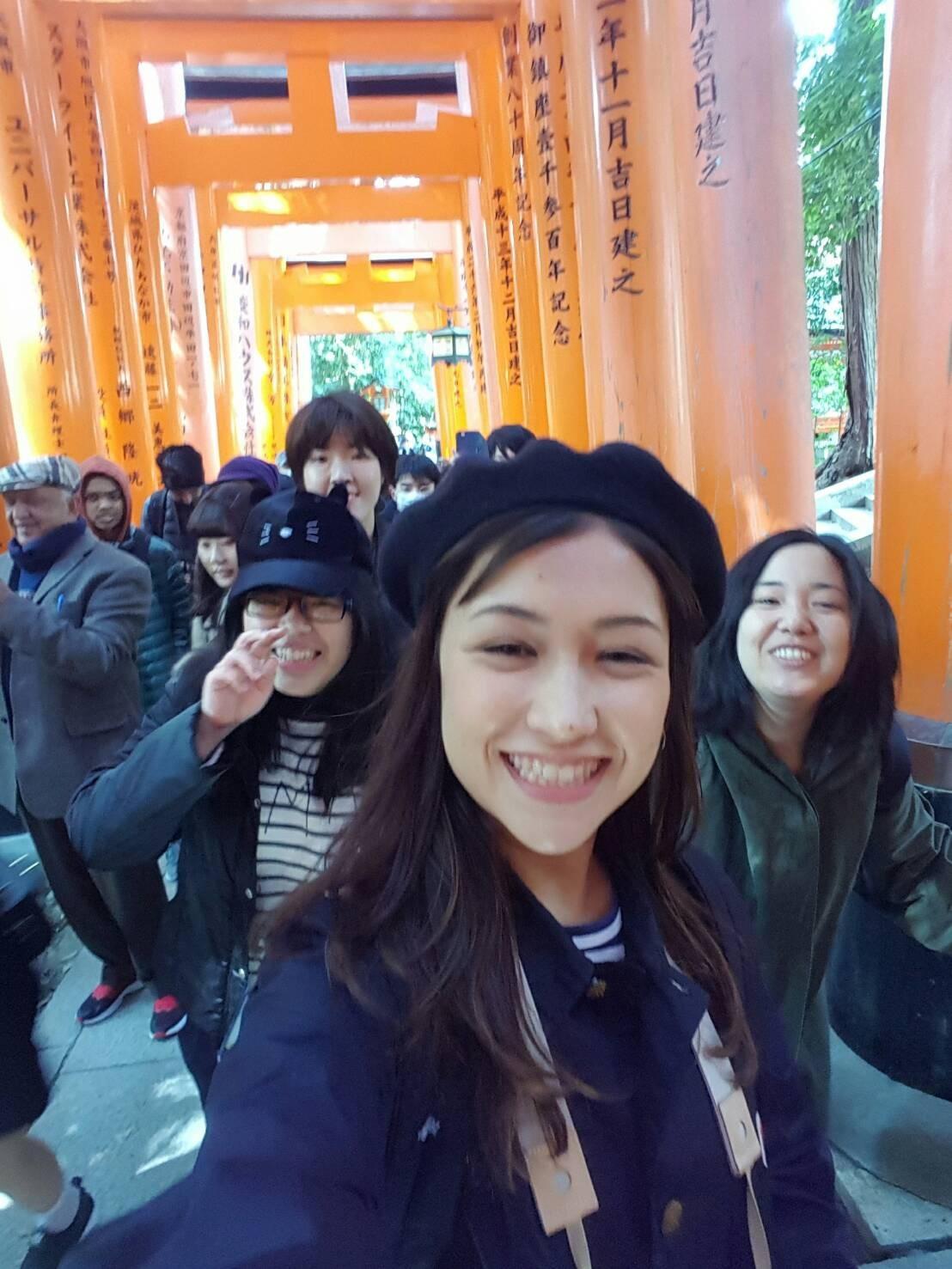 Minami from USC Studying Overseas at DoshishaUniversity