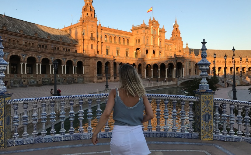 Bridget Studying Overseas in Seville,Spain