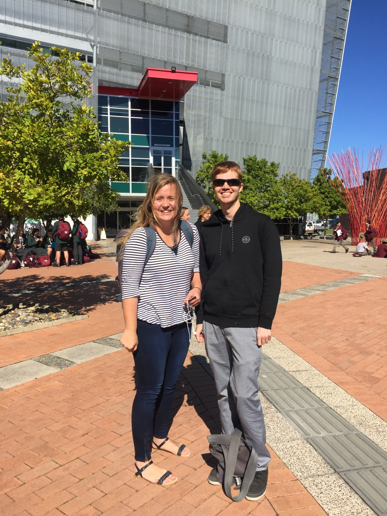 Lars and Labolina from Sweden – 1080 days of friendship, adventures, and achievements studying atUSC!