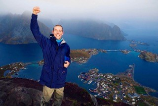 Dave Clancy Studying Outdoor Education and Nordic Friluftsliv in Sogndal,Norway