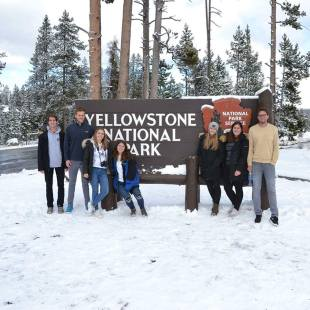 Yellowstone National Park Sign, Wyoming