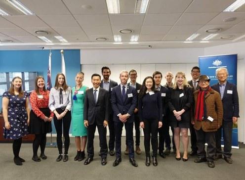 2018 NCP Scholars at the Australian Embassy in Korea