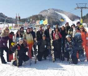 Pyeongchang Ski Trip (On the slopes)