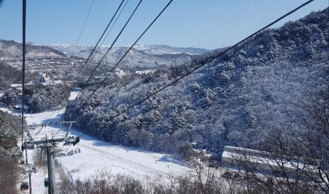 Pyeongchang Snow