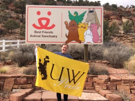 Volunteering at Best Friends Animal Sanctuary in Kanab, Utah for Spring Break