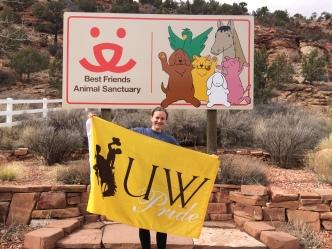 Volunteering at Best Friends Animal Sanctuary in Kanab, Utah for Spring Break