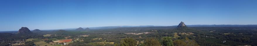 Glasshouse Mountains