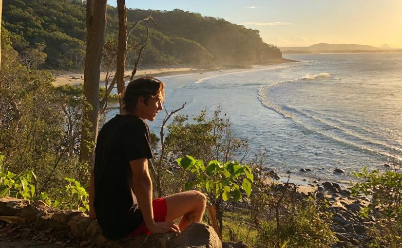 Oliver Siewertsen from Kilroy Denmark studying at USC SunshineCoast
