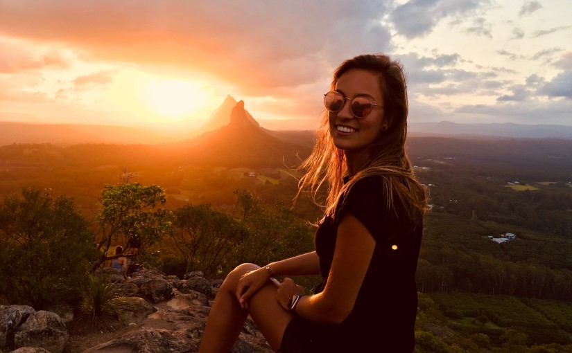 Annika Meyer from the University of Applied Sciences in Stralsund studying at USC SunshineCoast
