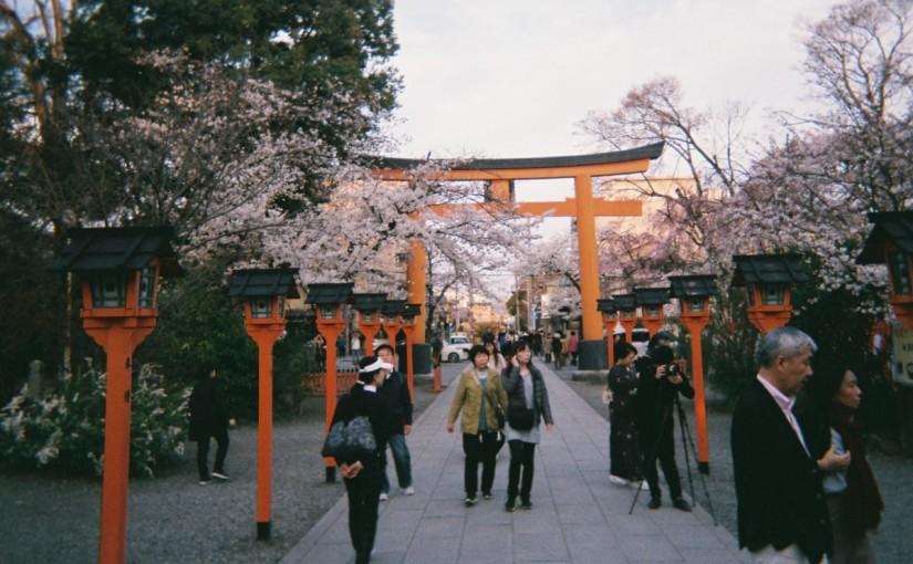 USC student Timothy Gill studying overseas at at Ritsumeikan University in Kyoto,Japan