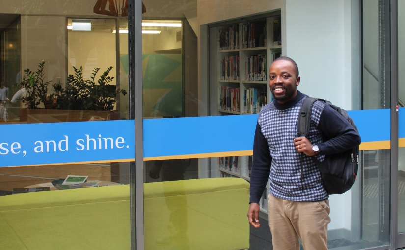 Clemence Mataruse from Zimbabwe studying a Master of Professional Accounting at USCSouthBank