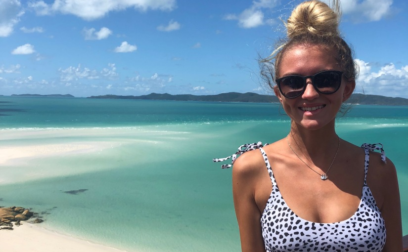 Jessica Mulligan from Montclair State University in the US studying abroad at USC SunshineCoast