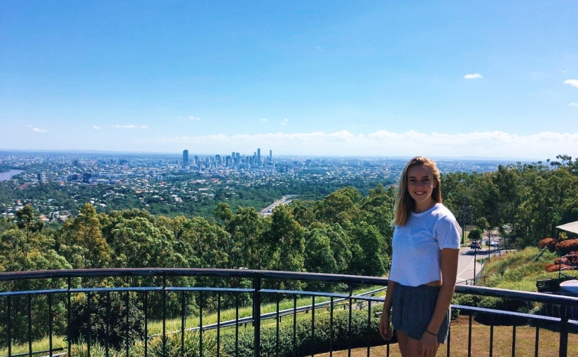 Patricia Romer from the University of Applied Sciences Fulda in Germany studying at USC SunshineCoast