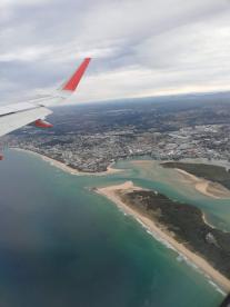 Sunny Coast from Plane