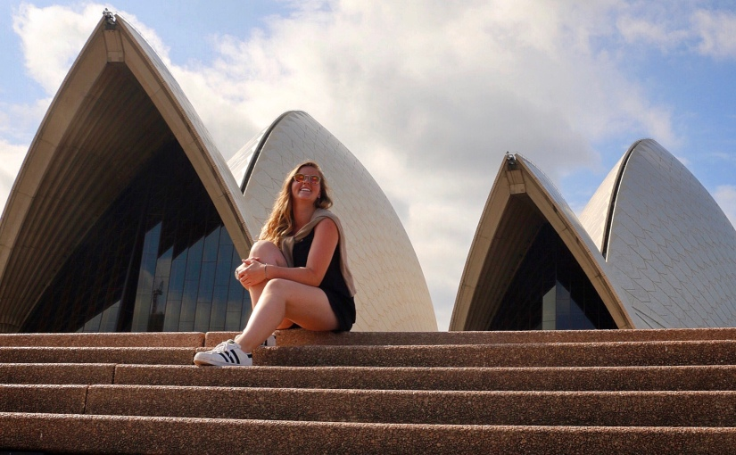 Kristin Stefanie Peiker from the University of Applied Sciences Munich in Germany studying at USC SunshineCoast