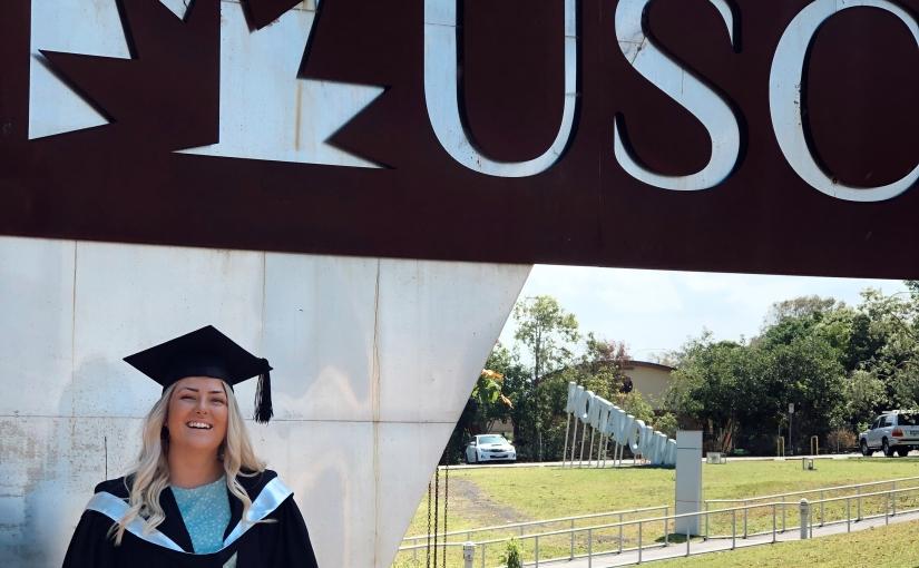 Frida Ommundsen from Kilroy Norway studying a Diploma in Sport & Fitness at USC Sunshine Coast: 'Moving to Sunshine Coast101'