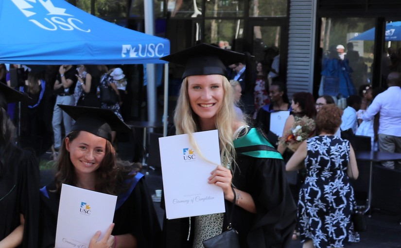 Lisa Wawrzinek from the University of Applied Sciences Heilbronn in Germany studying a Master of International Business at USC SunshineCoast