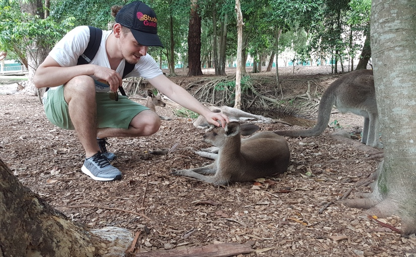 Thomas Dutz from the University of Applied Sciences Koblenz – RheinAhr in Germany studying a Double Degree at USC SunshineCoast