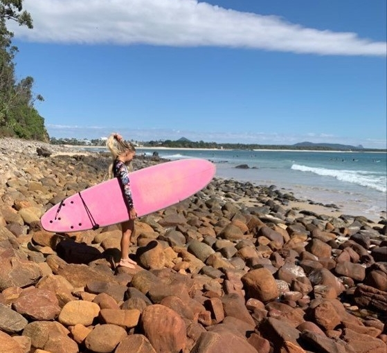 Mikaela Karppelin from Western Norway University of Applied Sciences (HVL) studying abroad at USC SunshineCoast