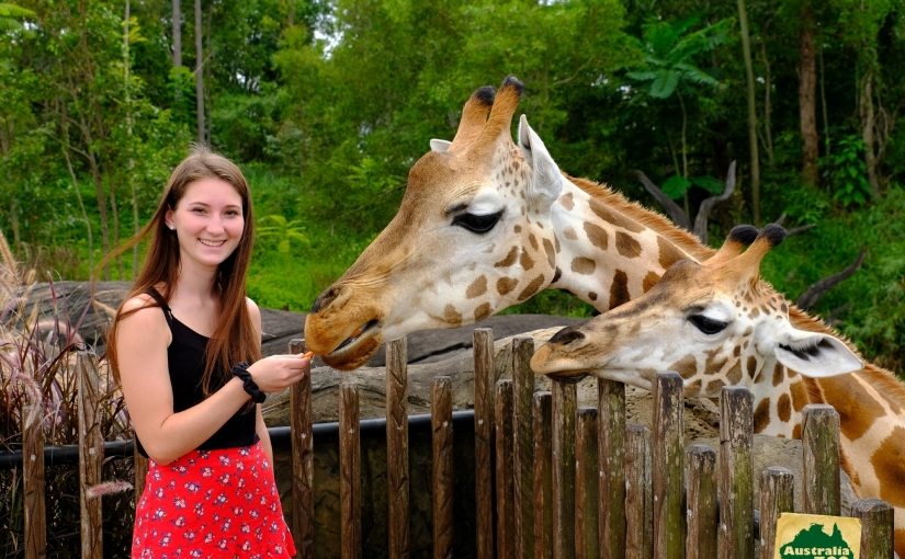 Chelsea Keister from Shippensburg University in the US studying abroad at USC SunshineCoast