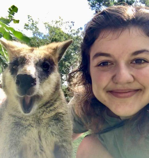 Bekira Rabinowitz from Canisius College in the US studying a Diploma in General Studies at USC SunshineCoast