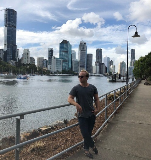 Sebastian Kind from Germany studying a Master of Business Administration / Master of International Business at USC SunshineCoast