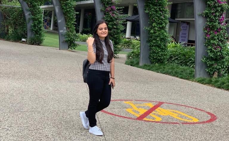Gurleen Kaur studying a Bachelor of Commerce (Accounting) atUSC